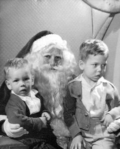 Jim and Steve Santa
