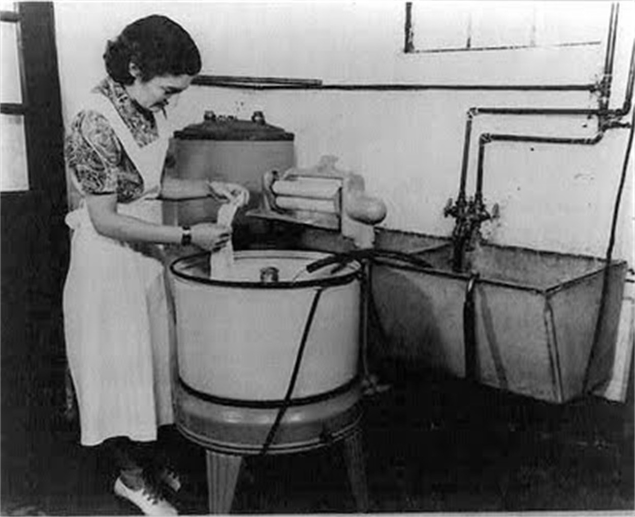 Electric Washing Machine ~ A duquesne monday the hunky