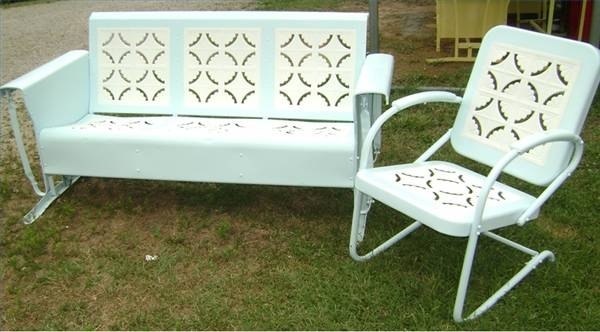 Vintage Retro Steel Patio Furniture
