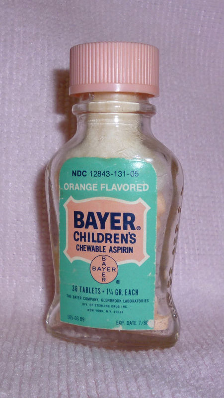 nieghborhood, childrens aspirin, bayer, st. joseph