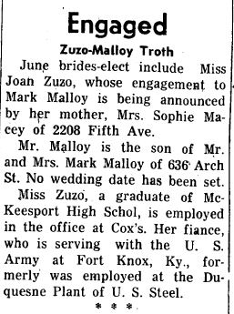 Engagement July 3, 1957