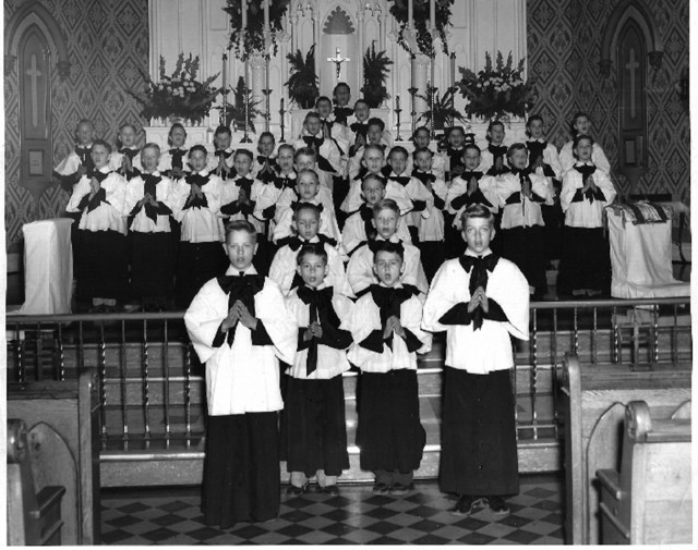 Holy Name 1957 Choir